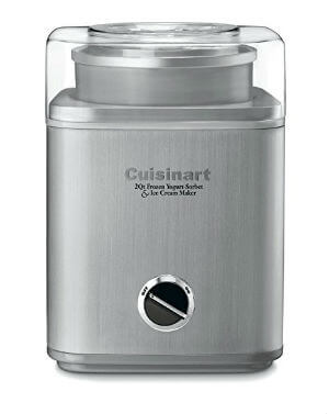 Cuisinart Pure Indulgence Yogurt And Ice Cream Maker