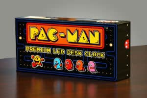 PAC MAN Premium LED Desk Clock 1
