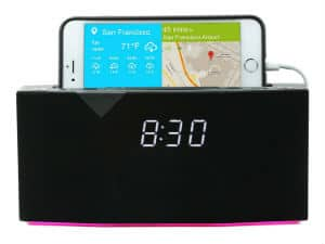 WITTI Design BEDDI Smart Radio Alarm Clock Speaker