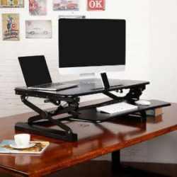 FlexiSpot 35 Wide Standing Desk Riser 1
