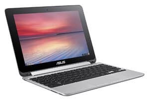 ASUS C100PA DB02 10.1 Inch Touch Chromebook Flip