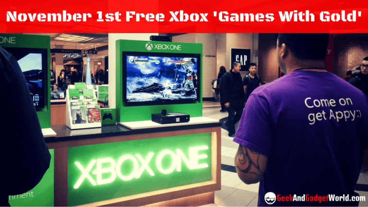 November 1 Free Xbox Games With Gold Reviews