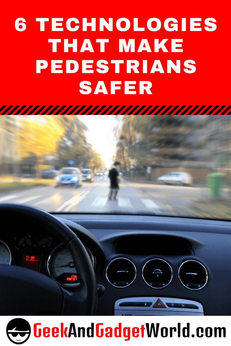 Technologies For Pedestrians Pinterest Image