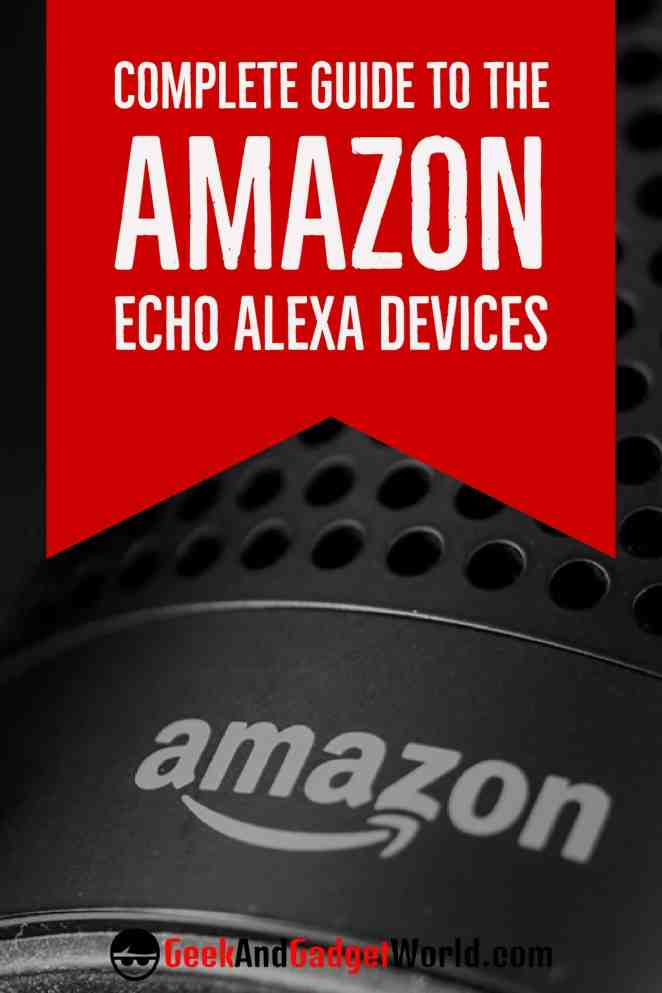 Amazon Echo Alexa Devices Pinterest