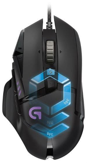 Logitech G502 Proteus Spectrum RGB Tunable Gaming Mous