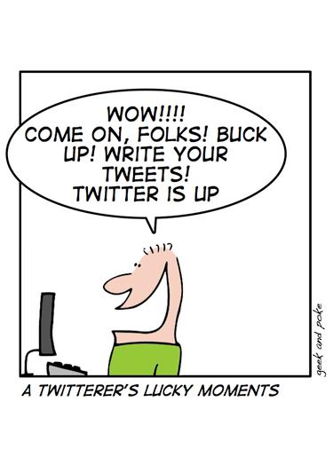 Twitter Humor - Geek and Poke