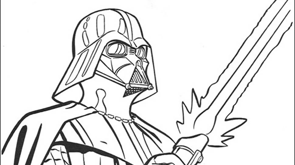 Ignite Your Creativity with Star Wars Coloring Pages… 100%