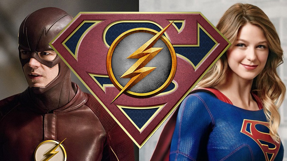 Image result for supergirl and flash