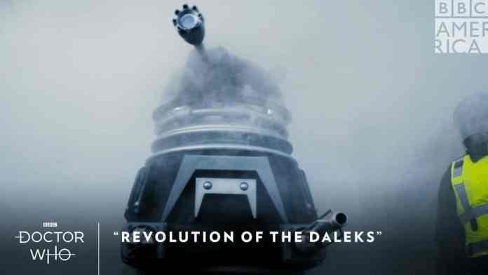 DOCTOR WHO: REVOLUTION OF THE DALEKS – Trailer and Air Date Released