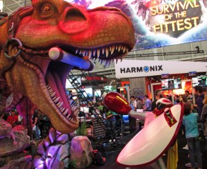 PAX East ProtoMan Vs. T-Rex