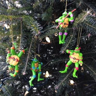 TMNT : Michaelangelo, Leonardo, Raphael et Donatello