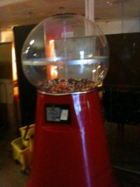Big Bubble Gum Machine