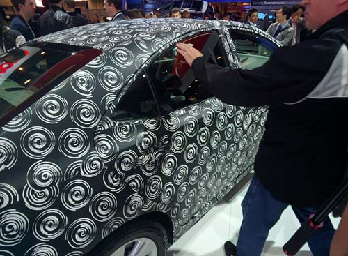 Toyota concept vehicle with camoflauge