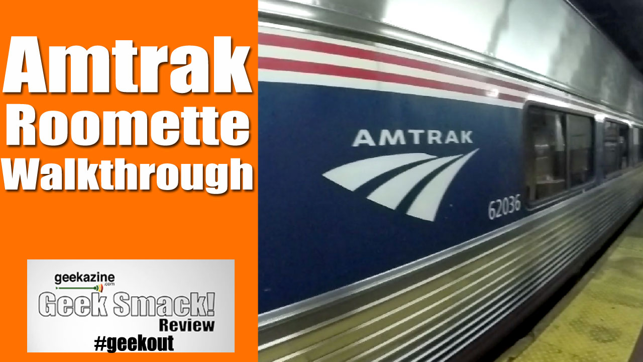 Taking The Amtrak Train Walkthrough Of The Roomette Sleeper