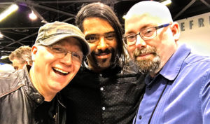 Chris Poland, Sergio Michel, and Myself