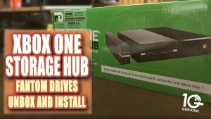 Fantom Drives XBox One Storage Hub Unbox and Install
