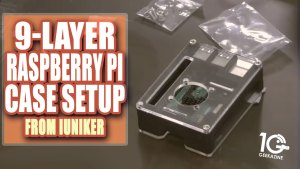 iUniker 9-Layer Raspberry Pi Case Setup