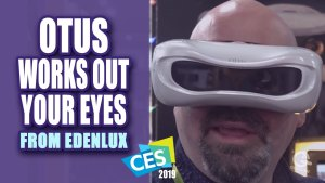 Otus Works Out Your Eyes While You Watch TV