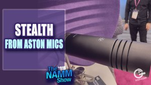 Aston Stealth is 4 Microphones in One