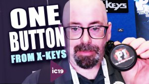 X-Keys One Button for Single Actions
