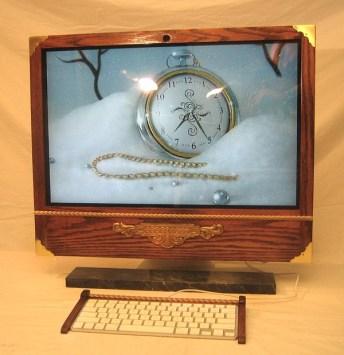 iMac wood case