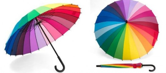 Para-pluie multicolor