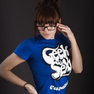 Tee Geek$sexy pour fille