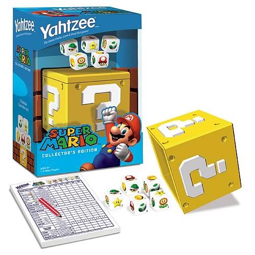 Super Mario version Yahtzee
