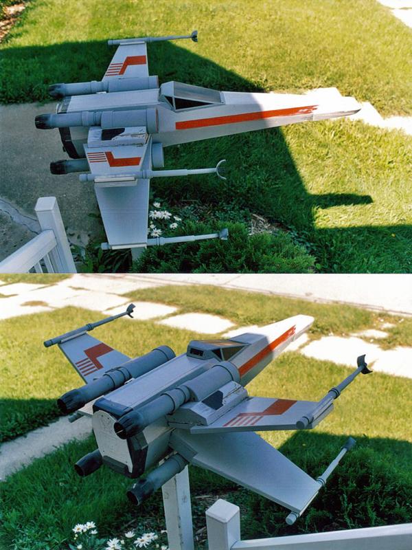 Boîte aux lettres X-Wing