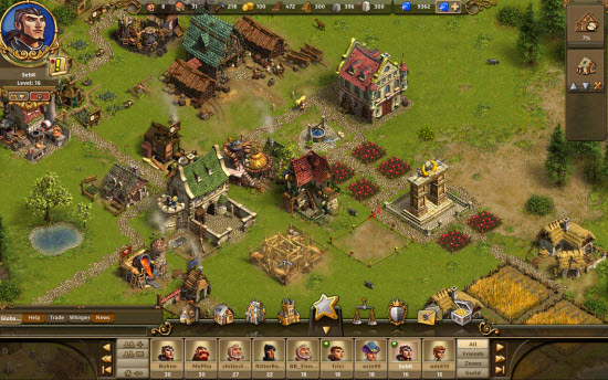 Castle Empire: Un RTS gratuit signé Ubisoft