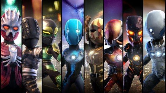 Tenues PowerUp Heroes