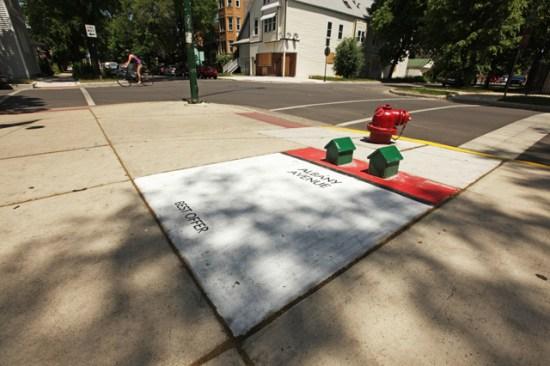 Albany Avenue - Monopoly géant
