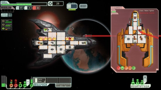 Faster Than Light   Le guide cadeau 2012: Les jeux Indie