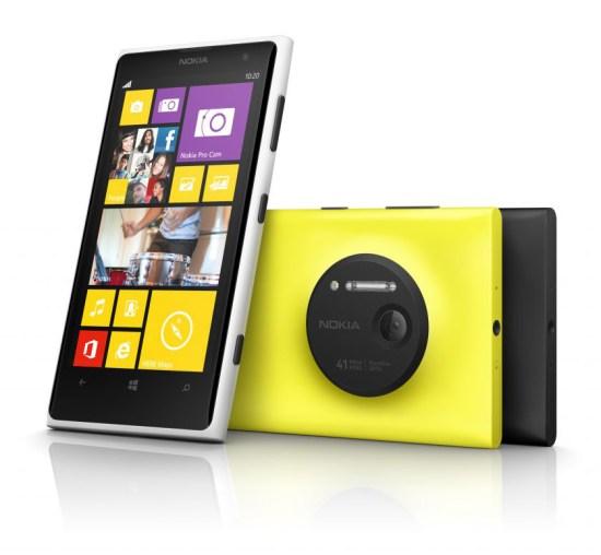 Le Nokia Lumia 1020 sera offert au Canada en noir et en jaune.