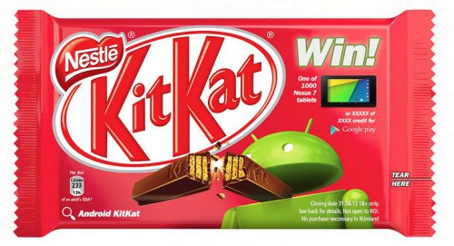 Emballage KitKat - Android