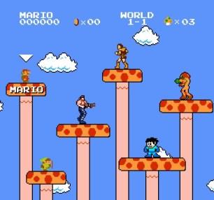 Super Mario Bros Crossover-selection