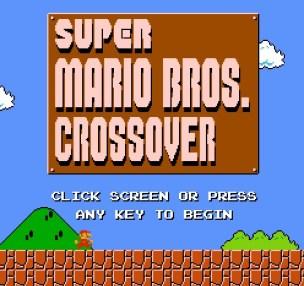 Super Mario Bros Crossover-title
