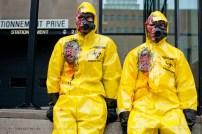 Une pandémie aurait plus de chances de nous anéantir qu'une généralisation d'armes biologiques, à 1 chance sur 2 versus 1 sur 60, respectivement, selon 888 Poker. Image: Geekbecois.