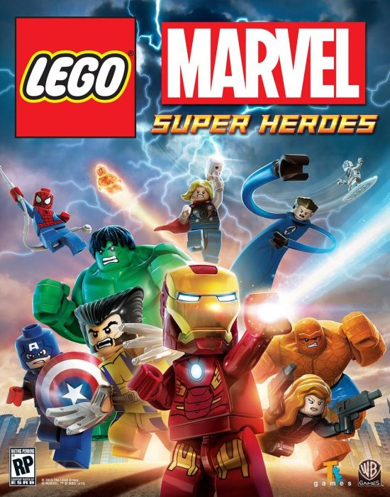 LEGO Marvel Super Heroes - box art