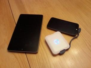 iStore Portable Baterry+   Chargeant un GNex