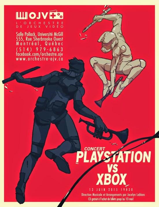Orchestre de Jeux Vidéo - concert Playstation vx Xbox