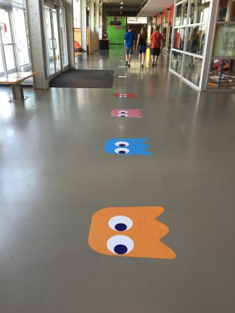 Suivez les traces de Pacman pour trouver l'expo Game On