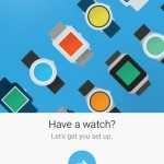 Android Wear sur iOS - Configuration 1