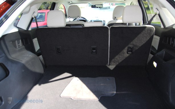 Espace du coffre arrière - Ford Edge 2015