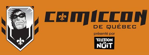 Costumadier au Comiccon de Québec