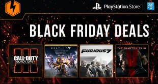 PlayStation Store Black Friday 2015