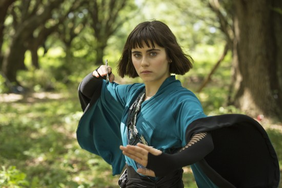 Ally Loannides / Tilda - Into the Badlands Saison 1 Épsiode 2 - Crédit photo : Patti Perret/AMC