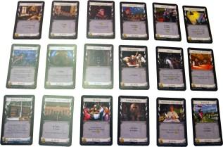 Dominion - Plusieurs cartes de jeu