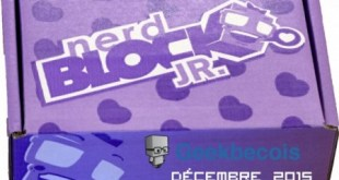 Unboxing Nerd block jr Girls décembre 2015