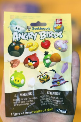 Figurine Angry Birds K'Nex - devant | Nerd Block Jr Girls Décembre 2015